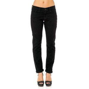 Frame Denim Le skinny de Jeanne jeans black sz 25
